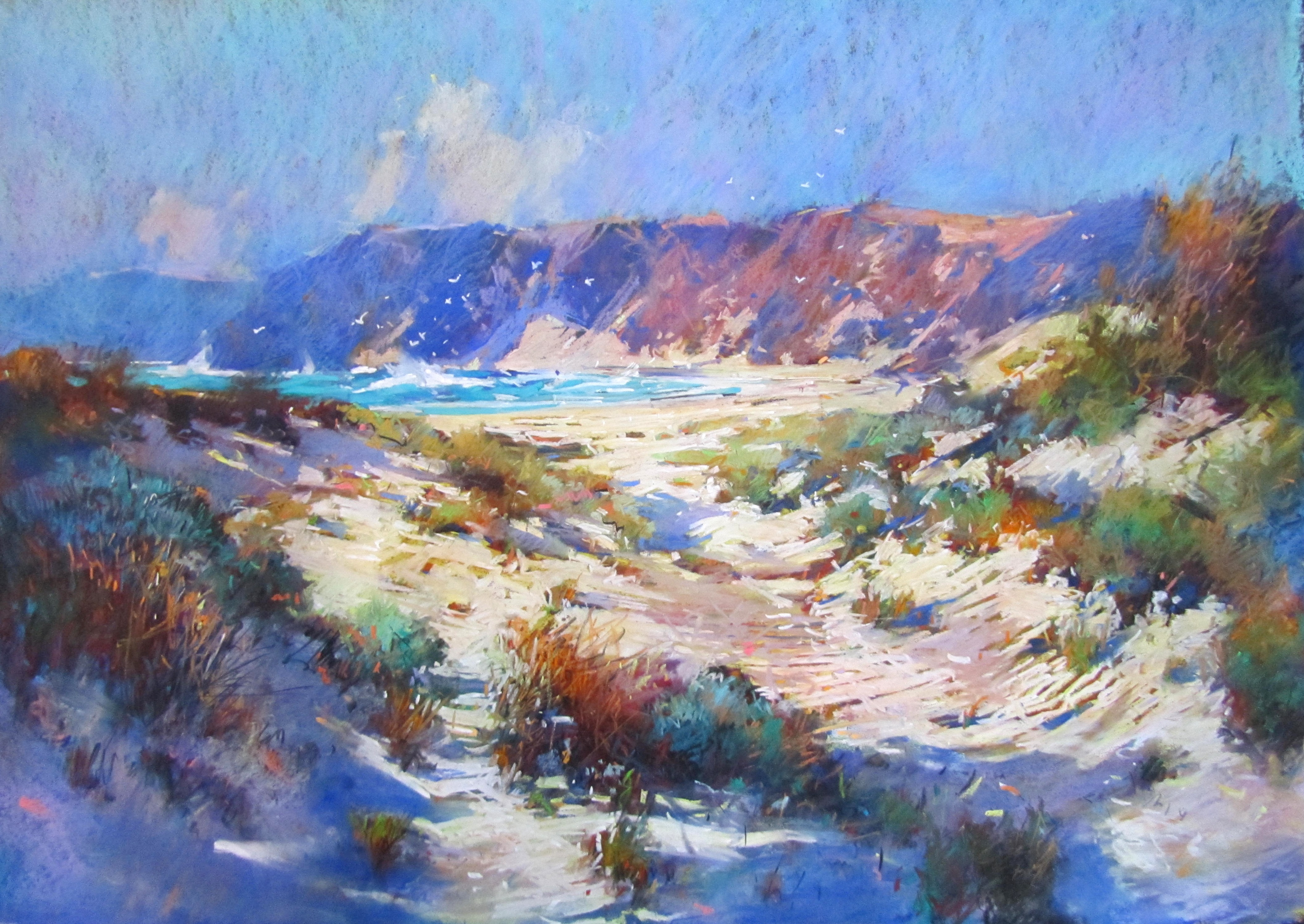 Cape Jervis S.A. Pastel. 1Mx700