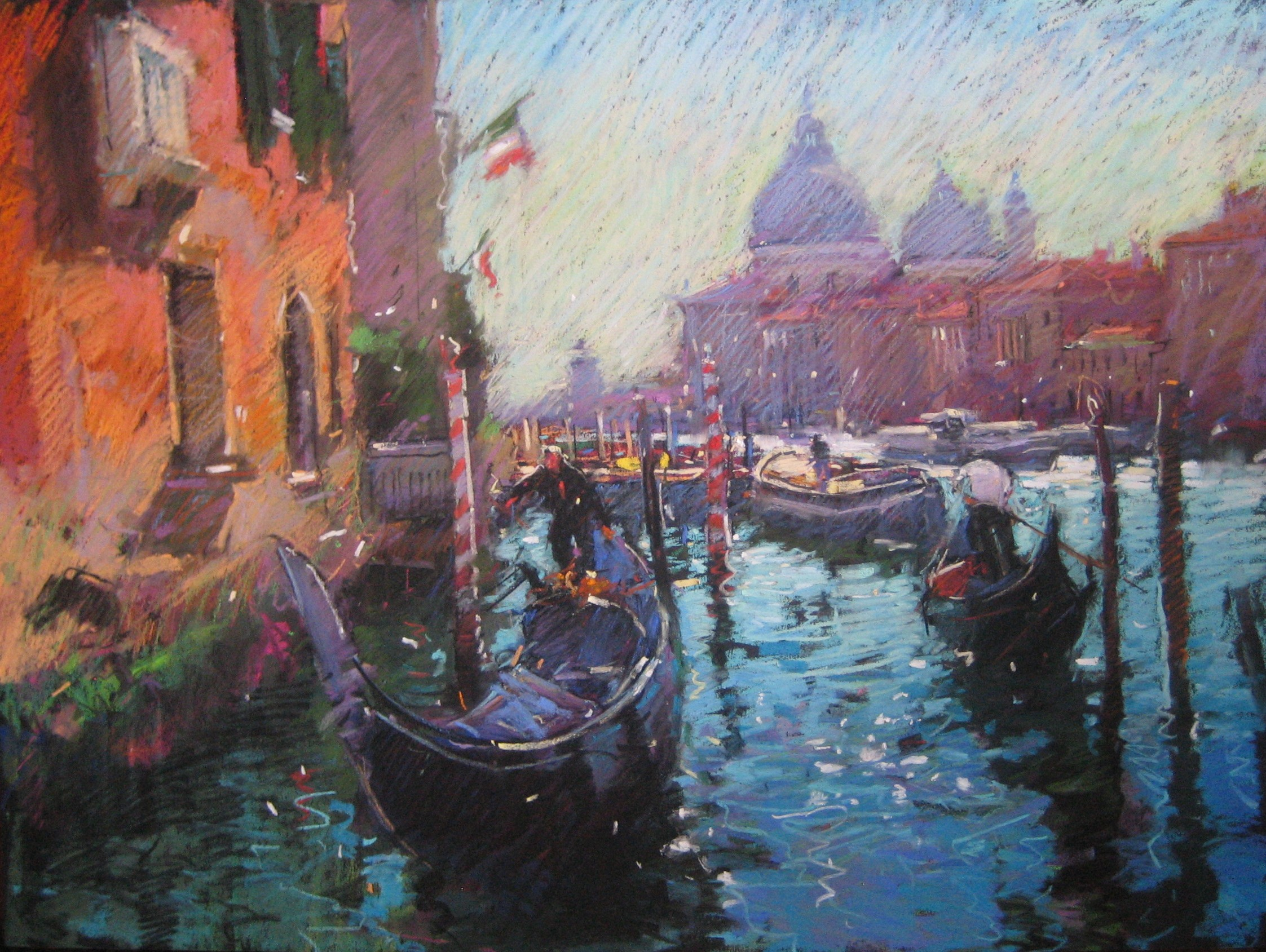 Looking Towards Santa Maria Della Salute-Venice.