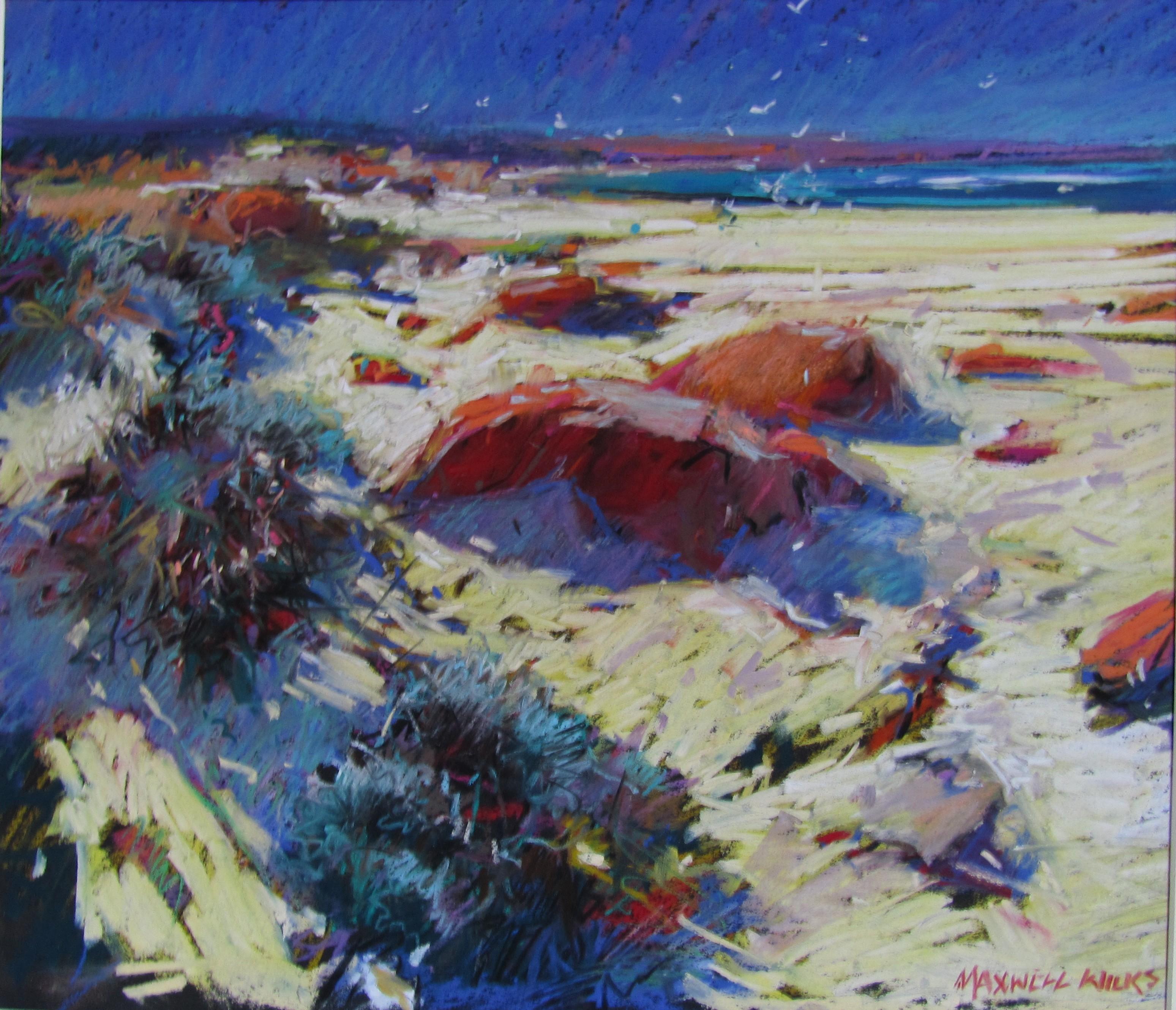 Bay of Fires Tasmania.pastel. 50 .