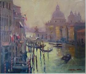 Venice Morning oil.