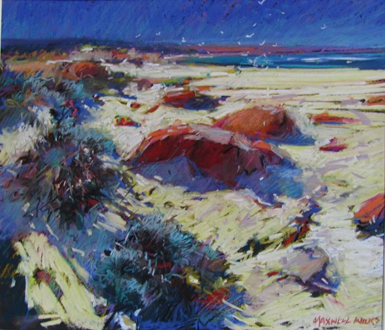 Bay-of-Fires-Tasmania.pastel.-2650-.