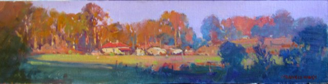 Shadows-and-Sunlight-Kinglake.-Oil.-24x6inches-sold